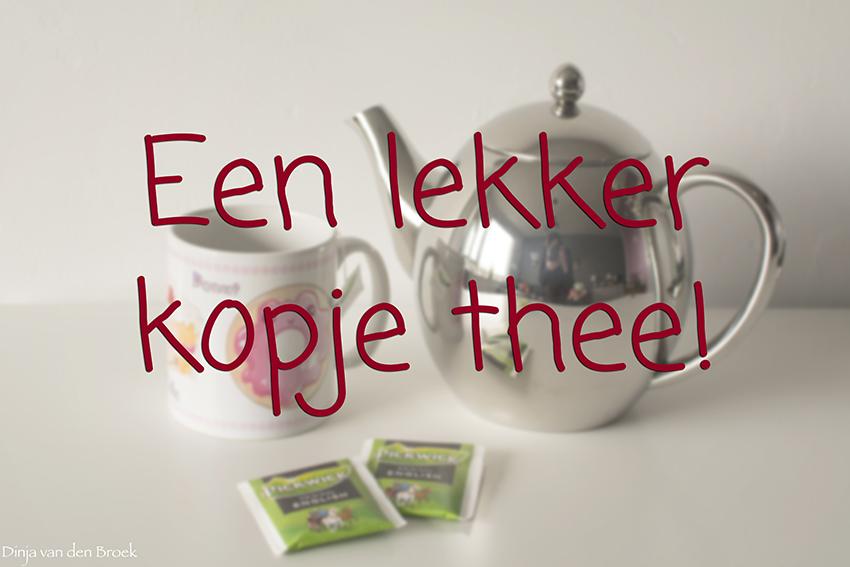 Een lekker kopje thee