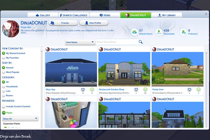Bouwen in Sims 4